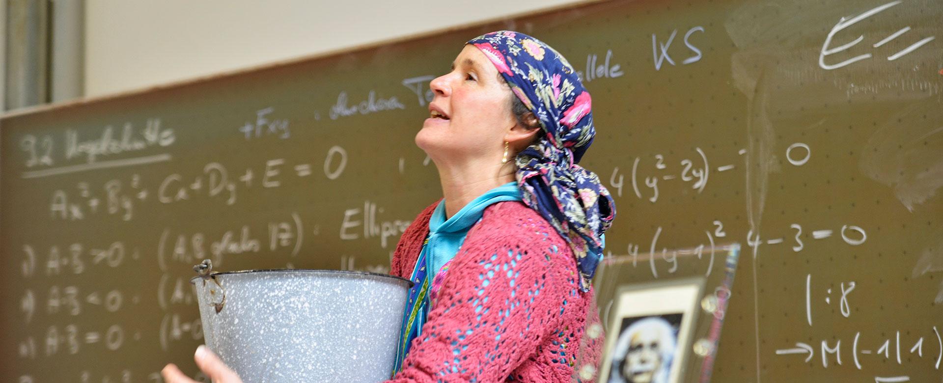 Erna Rational - Kabarett in Esslinger Hochschule