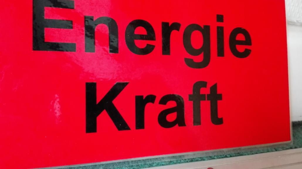 Sprech-Stimm-Workshop Esslingen Schild Energie Kraft