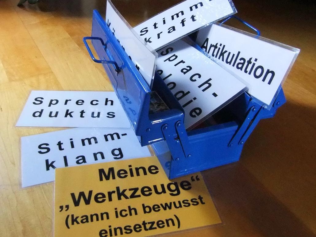 Sprech-Stimm-Workshop Esslingen Werkzeugkasten