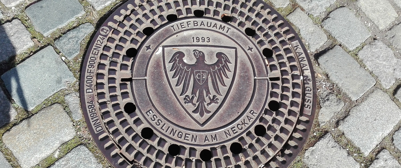 Programm Impression Gullideckel - ERNA ORIGINAL – Der Theaterspaziergang in Esslingen