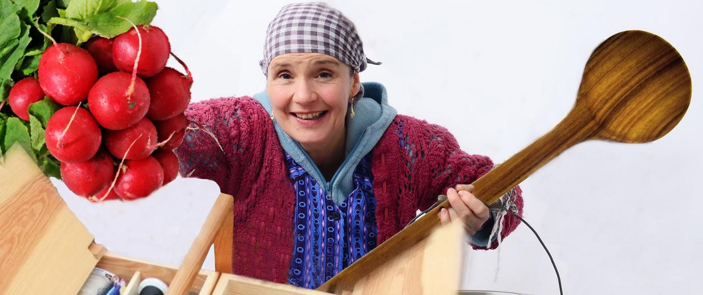Erna-mit-Mahl Stadtputzfrau Esslingen