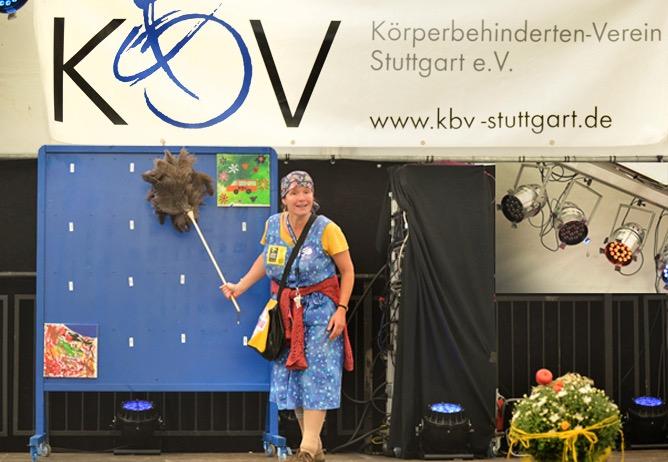 Einzelauftritt 50 Jubiläum Körperbehindertenverein-Stuttgart 2014 Foto Thomas Kraut