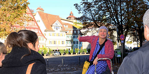 Kabarett Begleitservice Stadtputzfrau Esslingen