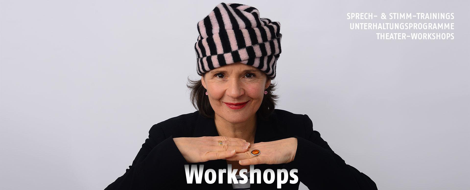 Theater-Workshops und Sprech-Stimm-Workshop Esslingen