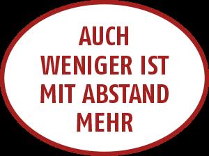 Auch weniger ist mit Abstand mehr - Stadtputzfrau Esslingen