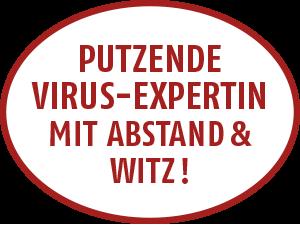 Putzende Virus-Expertin aus Esslingen